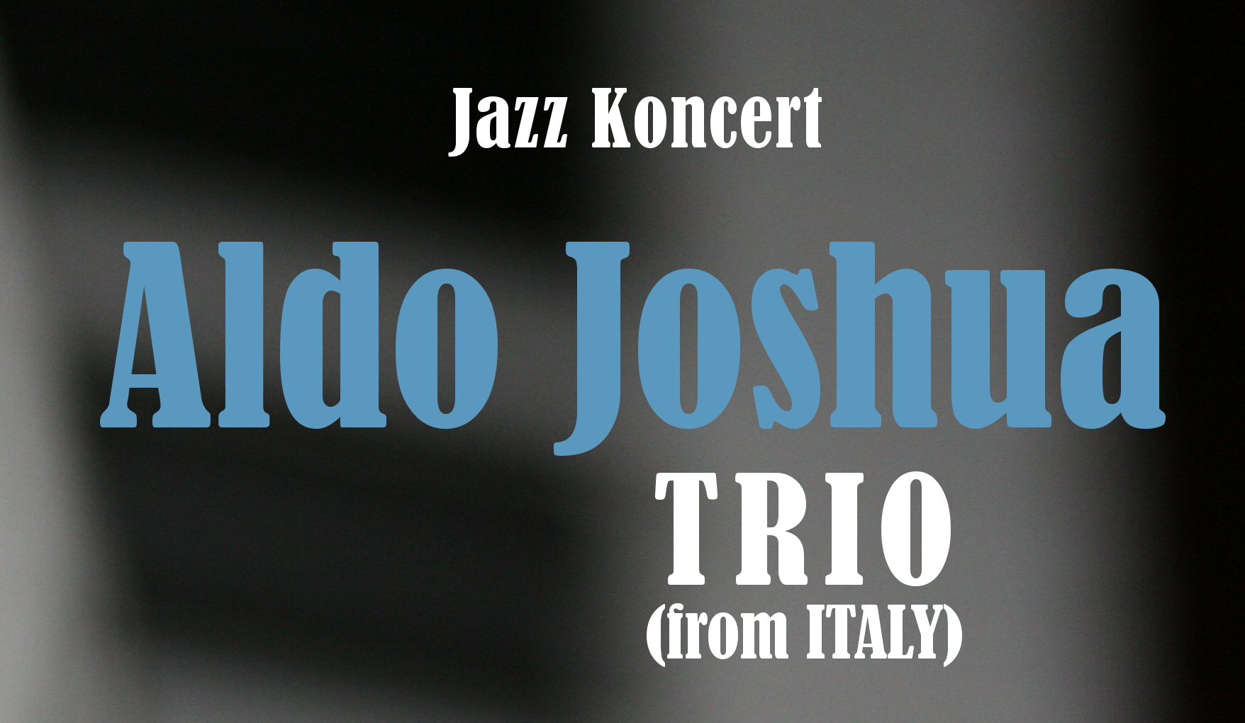 Aldo Joshua Trio (from Italy)